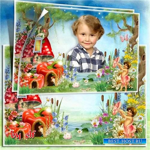 Детская фоторамка - Сказочный лес
