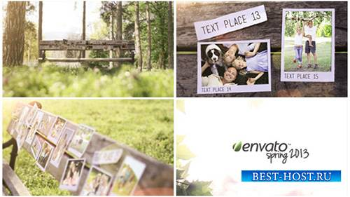 Bench Photo Gallery - Project for After Effects (Videohive)