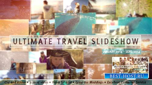 Ultimate Travel Slideshow - Project for After Effects (Videohive)