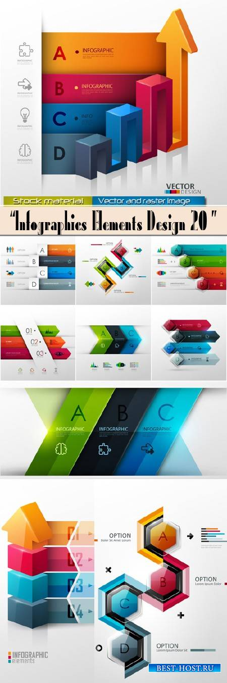Infographics Elements Design 20