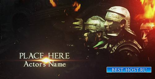 Cinematic Titles The Imperator - Project for After Effects (Videohive)