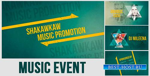 Music Event Promo - Project for After Effects (Videohive)