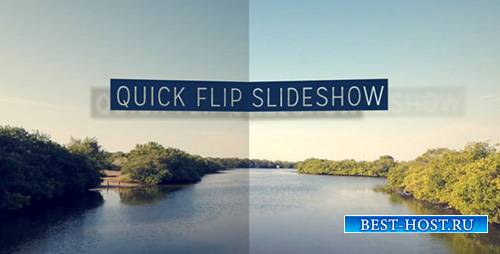 Quick Flip Slideshow - Project for After Effects (Videohive)