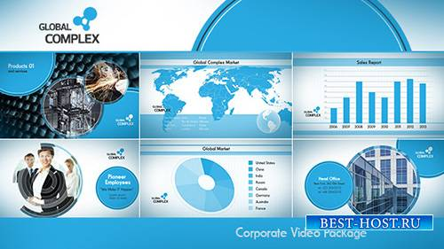 Clean Corporate - Project for After Effects (Videohive)