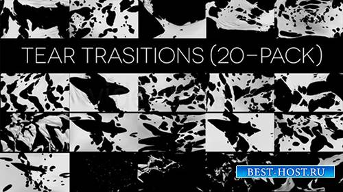 Tear Transitions (Pack of 20) - Motion Graphics (Videohive)