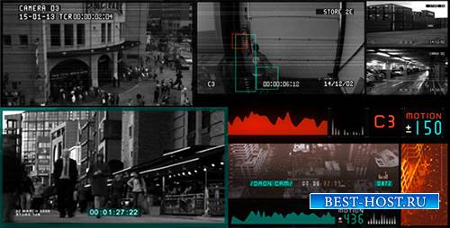 CCTV Surveillance Pack - Project for After Effects (Videohive)