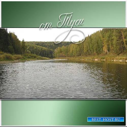 Горная река - Футажи для видеомонтажа