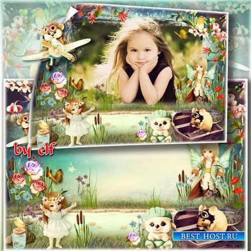 Детская рамка для фото – Сказочный лес