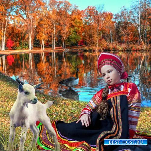 Шаблон  детский - Сестрица Алёнушка