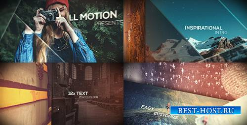 Inspirational Intro - Dynamic Slides - Project for After Effects (Videohive ...