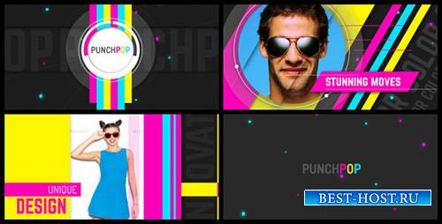 Punch Pop - Project for After Effects (Videohive)