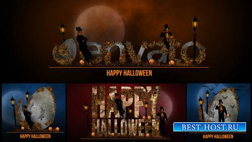 Halloween Bumper - Project for After Effects (Videohive)