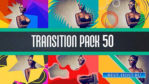 Transition pack 50 - Project for After Effects (Videohive)