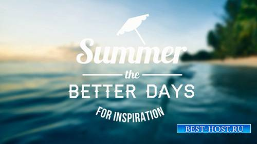 Epic Summer Days Opener - Project for After Effects (Videohive)