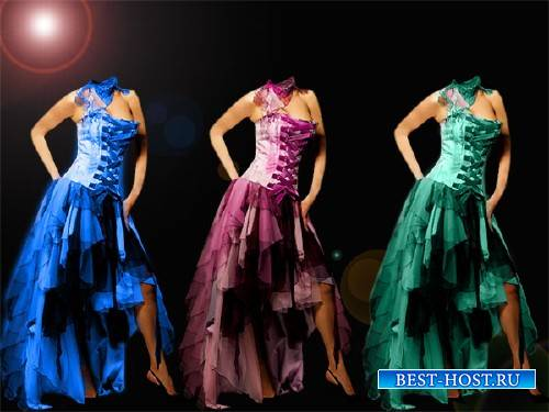 Шаблон для девушек - Платье вашего цвета