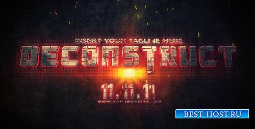 Deconstruct - Project for After Effects (Videohive)
