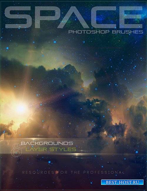 DAZ3D: Ron's Space Brushes (Photoshop Brushes & Elements)