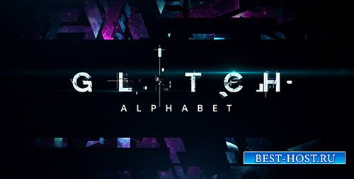 Glitch Alphabet - Project for After Effects (Videohive)