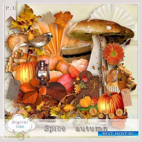 Осенний скрап-комплект - Пикантность осени