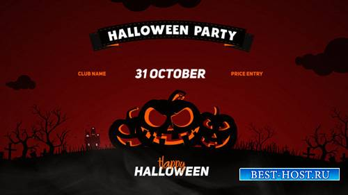 Halloween Party Opener - Project for After Effects (Videohive)