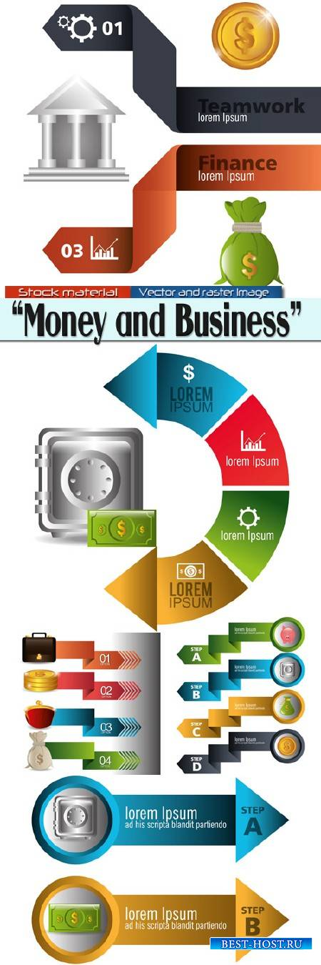 Infographics - Money and Business