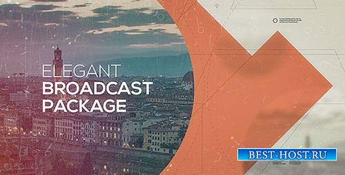 Elegant Broadcast Package 13101496 - Project for After Effects (Videohive)