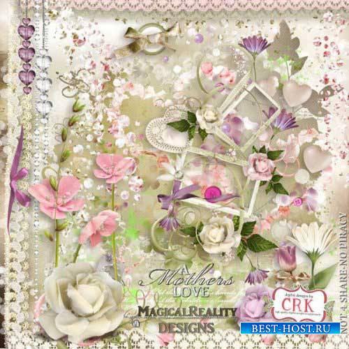 Романтический скрап-набор - Материнская любовь