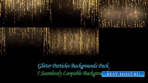 Glitter Particles Backgrounds Pack - Motion Graphics (Videohive)