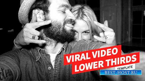 Viral Video Lower Thirds Template - Project for After Effects (Videohive)