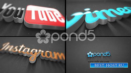 3D Logo Energetic - Project for After Effects (Pond5)