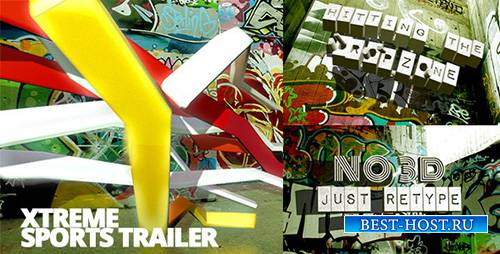 Xtreme Sports Graffiti Trailer - Project for After Effects (Videohive)