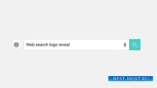 Web Search Logo Reveal - Project for After Effects (Videohive)