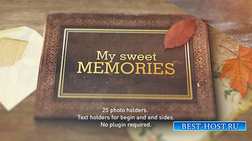 Old Memories Album Gallery - Project for After Effects (Videohive)