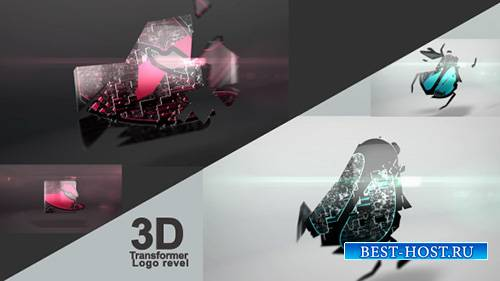 3D Transformer Logo - Project for After Effects (Videohive)