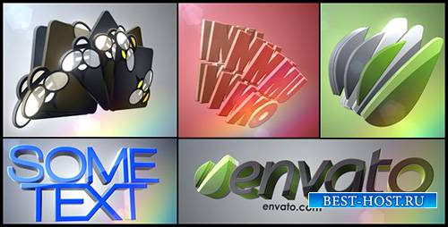 3D Logo Layers - Project for After Effects (Videohive)