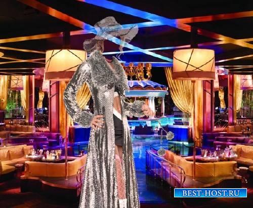 Photoshop шаблон - В клубе