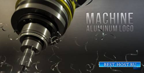 Machine aluminum logo - Project for After Effects (Videohive)