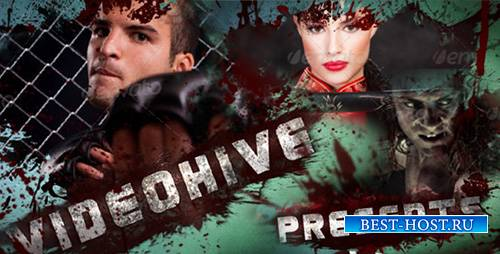 Blood Action Trailer - Project for After Effects (Videohive)