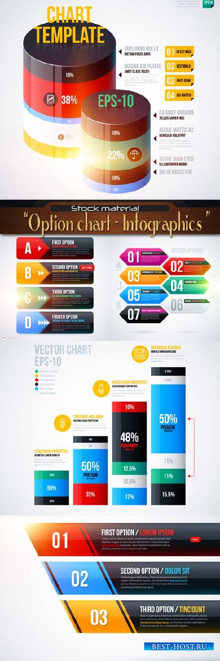 Option chart - Infographics