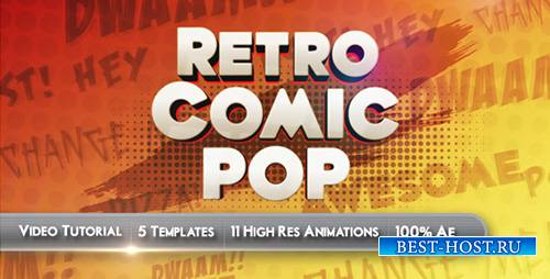 Retro Comic Pop - Project for After Effects (Videohive)