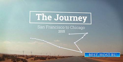 The Journey Map Slideshow - Project for After Effects (Videohive)