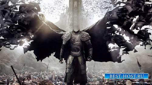 Шаблон для мужчин - Дракула с крыльями