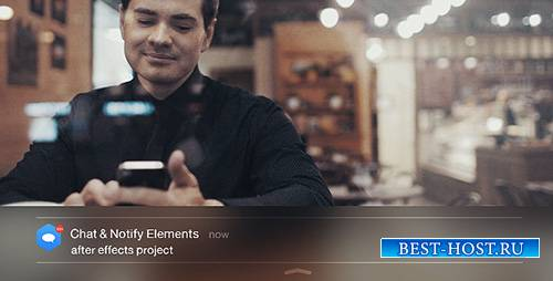 Chat & Notify Elements - Project for After Effects (Videohive)