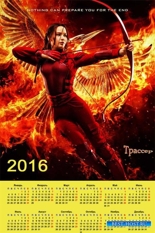 астенный календарь на 2016 год - Сойка-пересмешница