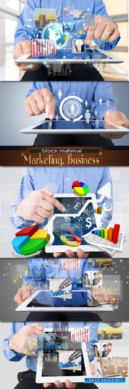 Маркетинг, бизнес, данные, статистика