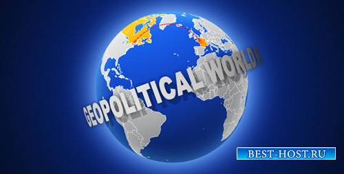 Geopolitical World Map - Project for After Effects (Videohive)