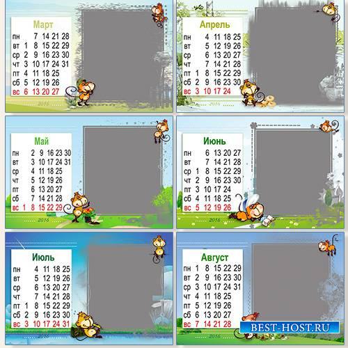 Картинки времен года для календаря природы
