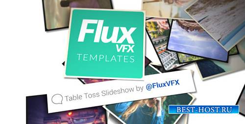 Table Toss Slideshow - Project for After Effects (Videohive)