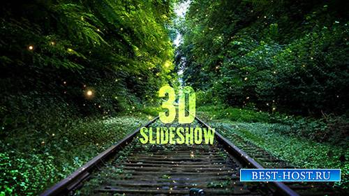 3D Slideshow - After Effects Template (Pond5)
