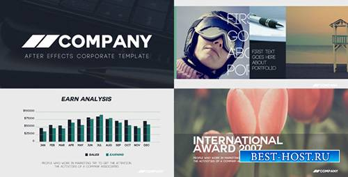 Clean Corporate Presentation 13536793 - Project for After Effects (Videohiv ...